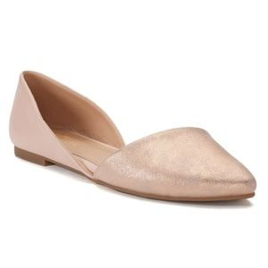 Candie's D'Orsay Flats NWOT